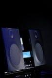 Audiosystem stockfoto