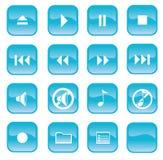 Audiotasten Lizenzfreie Stockbilder