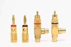 Audioverbinder Lizenzfreies Stockfoto
