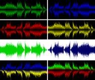 Audiowave lizenzfreie abbildung