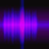 Audiowaves illustration Stock Photo