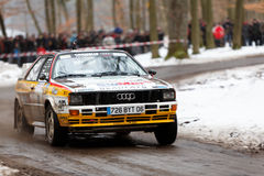 audiquattro Royaltyfri Foto