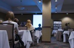 Auditório da conferência Fotos de Stock Royalty Free