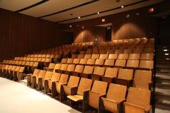 Auditório de escola vazio fotos de stock royalty free