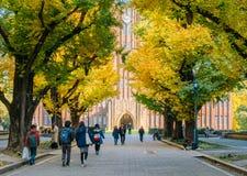 Auditório de Yasuda, a universidade do Tóquio, Japão Imagem de Stock Royalty Free