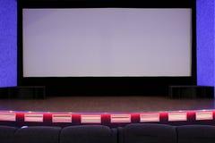 Auditório do cinema Imagem de Stock Royalty Free