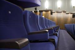 Auditório do cinema Imagens de Stock