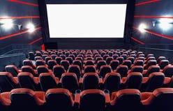 Auditório do cinema foto de stock