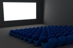 Auditório do cinema Fotos de Stock Royalty Free