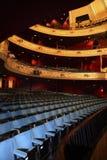 Auditório do teatro Imagens de Stock Royalty Free