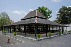 Auditório no palácio de Yogyakarta Fotografia de Stock Royalty Free