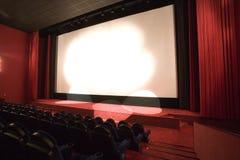 Auditório vazio do cinema Imagem de Stock Royalty Free