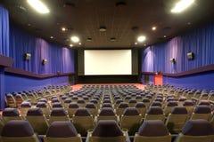 Auditório vazio do cinema imagens de stock royalty free