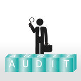 Audit Images stock