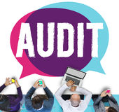 Audit Accounting Bookkeeping Finance Inspection Concept Royalty Free Stock Photos