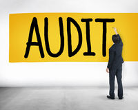 Audit Accounting Bookkeeping Finance Inspection Concept Royalty Free Stock Image