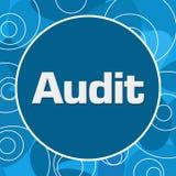 Audit Blue Random Rings Circle Stock Images