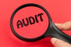 Audit concept Royalty Free Stock Photography