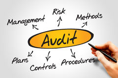 Audit Stock Image