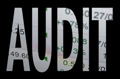 Audit Royalty Free Stock Photos
