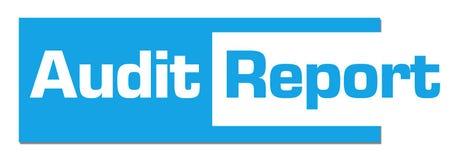 Audit Report Blue Abstract Bar Stock Photos