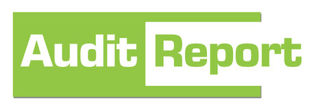 Audit Report Green Abstract Bar Stock Images