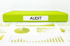 Audit reports, graphs, charts, data analysis Stock Images