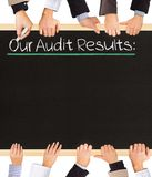 Audit Results Royalty Free Stock Image