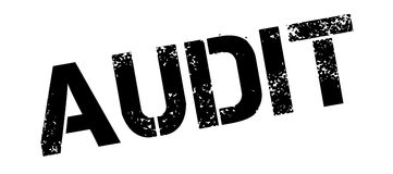 Audit rubber stamp Stock Photography