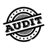 Audit rubber stamp Royalty Free Stock Images
