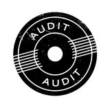 Audit rubber stamp Royalty Free Stock Image