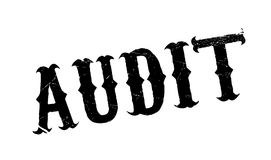 Audit rubber stamp Stock Images