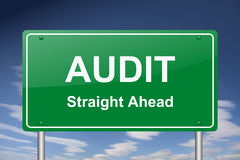 Audit sign Stock Photo