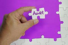 Audit Text - Business Concept Stock Image