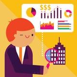 Auditer une société Image stock