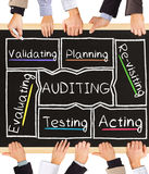 AUDITING concept words Stock Photo