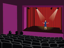 Audition vector Stock Photo