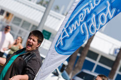 Auditions d'American Idol images stock
