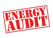 Auditoría de energía Fotografía de archivo libre de regalías