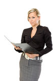 Auditor business woman Royalty Free Stock Photo