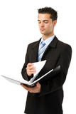 Auditor businessman Royalty Free Stock Images