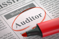 Auditor Join Our Team 3d Fotos de Stock Royalty Free