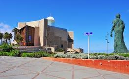 Auditorio Alfredo Kraus em Las Palmas de Gran Canaria, Espanha Fotografia de Stock