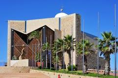 Auditorio Alfredo Kraus i Las Palmas de Gran Canaria, Spanien Arkivbild