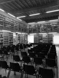 Auditorio de la biblioteca foto de archivo
