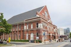 Auditorio de Ryman foto de archivo