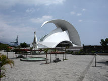 Auditorio de Tenerife Imagen de archivo