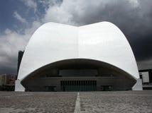 Auditorio de Tenerife Fotos de archivo libres de regalías