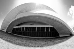 auditorio de Tenerife obraz stock