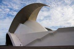 Auditorio De Tenerife lizenzfreie stockfotos